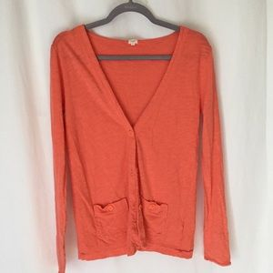 J.Crew cardigan sweater button front sz small